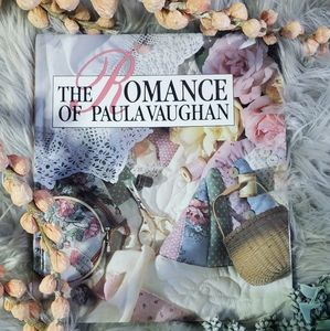The Romance of Paula Vaughan Embroidery Book